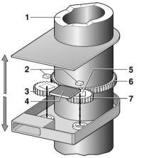 Датчик угла поворота схема микроконтроллер.