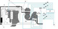 Схема системы климат-контроля
