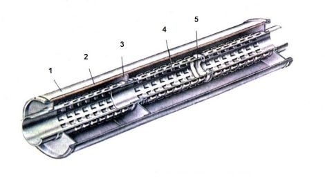Схема глушителя На примере